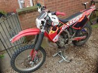GASGAS EC 250 Enduro/Motocross Road legal with MOT