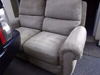 ELECTRIC SOFA, recliner two seat reclining settee, CAN DELIVER 10 MILES. cost £900 NOW £175