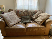 2 Person leather sofa