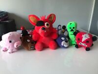Mine craft and five nights at freddy teddy's