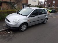 2005 Ford Fiesta 1.4 5 door with computer entertainment system