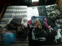 Mega bundle Ladies size 10&12 clothes shoes size 5