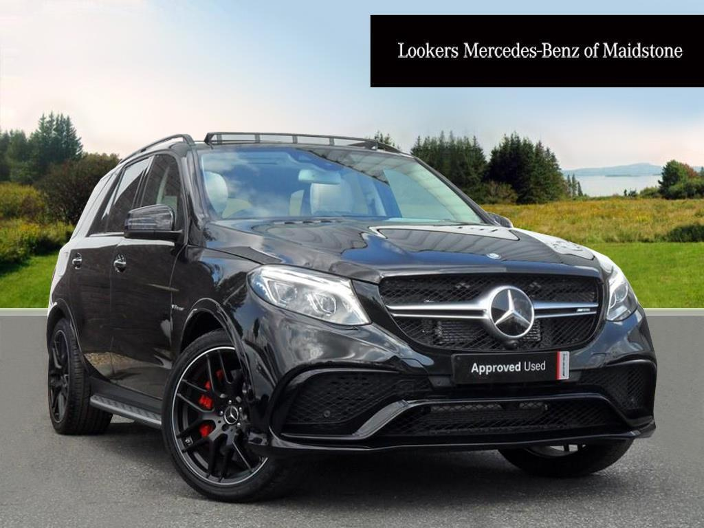 Mercedes benz gle class amg gle 63 s 4matic premium black for 2017 amg gle 63 mercedes benz