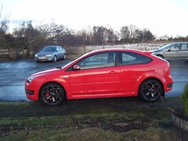2007 FOCUS ST 225 TURBO 2.5 NEW MOT FSH PRIVATE PLATE VERY CLEAN EXAMPLE MAY PX