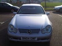 MERCEDES C180 2 DOOR COUPE KOMPRESSOR 2004 1.8 MANUAL