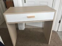 Small desk with drawer