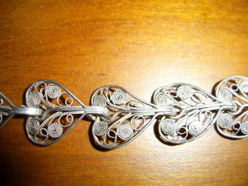 100 Jahre altes filigranes Armband aus Silber ( Handarbeit ) in Nordrhein-Westfalen - Iserlohn
