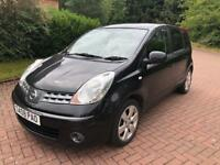 1 previous owner Nissan note 1.6 Acenta R 81000 FSH 08plate