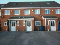 MODERN THREE BED TOWN HOUSE TO RENT LONGHILL EST. HULL £525 PER MONTH
