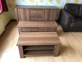 Walnut coffee table * free furniture delivery *