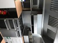 Burco Cook Centre 5 Burner Dual Fuel Range