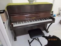piano in good condition