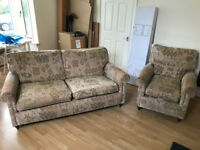 Sofa and Armchair set for sale
