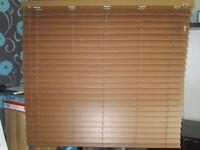 Walnut Faux wood slat venetian blind New in the box