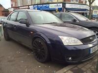 Ford Mondeo 2.5 V6 2001 - st alloys - spares or repairs - starts and drives - not scrap ford wheels