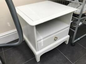 Stag minstrel bedside table