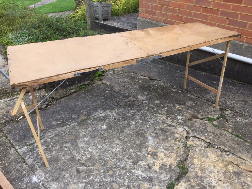 Fold up pasting / carboot table
