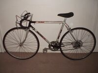 "Classic/Vintage/Retro Raleigh Winner 21"" Racing/Road Bike (BRAND NEW tyres)(will deliver)"