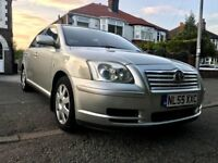 2005(55) TOYOTA AVENSIS 5DOORS HATCHBACK 1.8,MOT OCT2018,NEW CLUTCH,83000 LOW MILES,AIRCON,HPI CLEAR