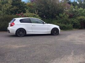 White 2.0 118D MSport BMW For sale