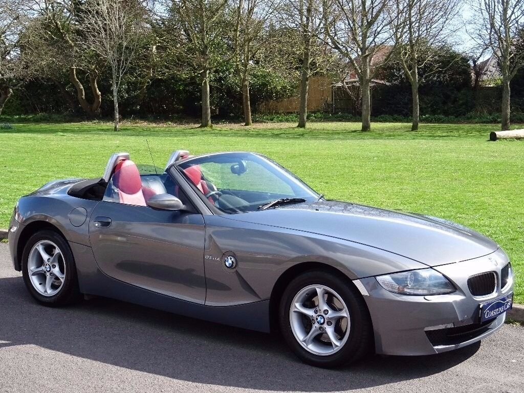 Bmw Z4 2 5 Si Se Roadster 2dr Red Leather Heated Sport