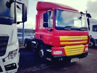 2010-60 plate daf cf85-410 single sleeper 4x2 tractor unit very low klms pl...