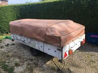 retro 1982 conway dl trailer tent just needs some tlc 6 berth