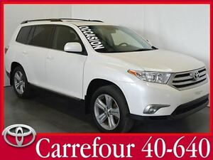 2013 Toyota Highlander Sport V6 AWD Cuir+Toit+Bluetooth+Camera d