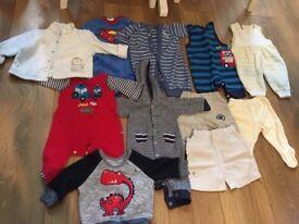 baby boy bundle newborn/0-3
