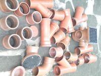 100 mm soil waste fittings