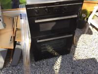 Indesit double inset oven