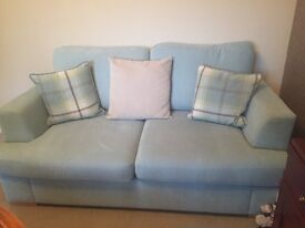 2+3 Seater Duck Egg Blue Sofas