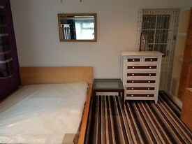 Studio Flat Double bed very large room kitchenette & Ensuite