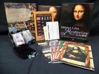 'Mona Lisa Mysteries Game' - Winning Moves Games (2006)