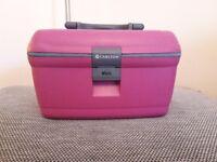 Pink Carlton Vanity Travel Case
