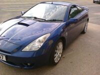 TOYOTA CELICA 1.8 VVTI. MK 7 BLUE. FULL LEATHER 2004