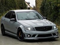 ★ABSOLUTELY STUNNING★(2009) MERCEDES C63 AMG ★ 6.3 4DR 7G TRONIC - PERFORMANCE PACK PLUS - LSD