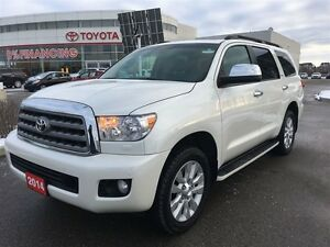 2014 Toyota Sequoia Platinum with Brand New Tires! Toyota Certif