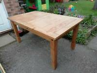 Mexican pine corona dining table