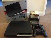 PS3 console & games etc
