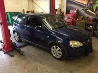 CORSA BREAKING FOR SPARES
