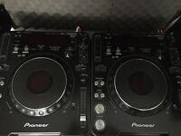 Pioneer cdj mk3 pair IMMACULATE - Bargain - £600 !!
