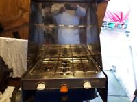 GAS HOB AND GRILL