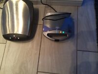 Large george foreman and toastie machine