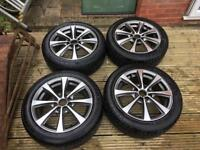 15 inch ally wheels with tyres
