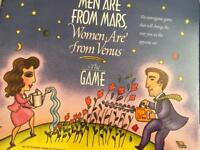 Men are from mars women are from Venus Game. New