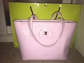 Small Lilac Ted Baker Bag