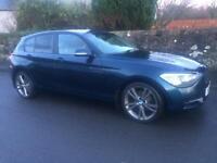 BMW 1 series 118d sport 5 door £30 road tax!
