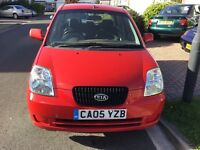 Kia picanto GS 999cc 2005 facelift model 5 door hatch taxed