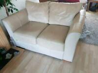 Leather 2 seater sofa FREE to good home!